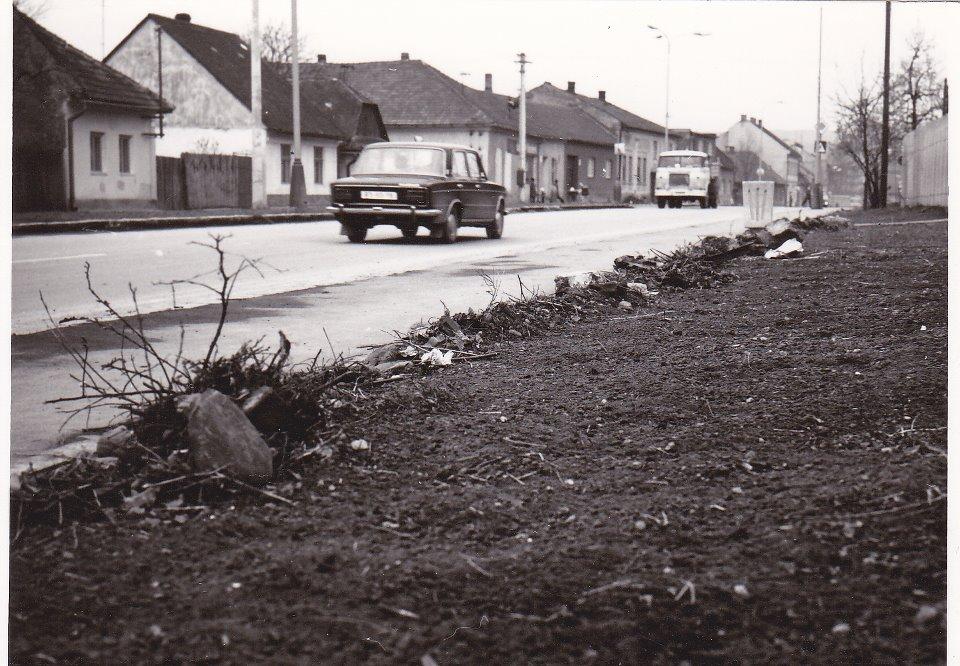 Mudroňova ulica v r. 1975