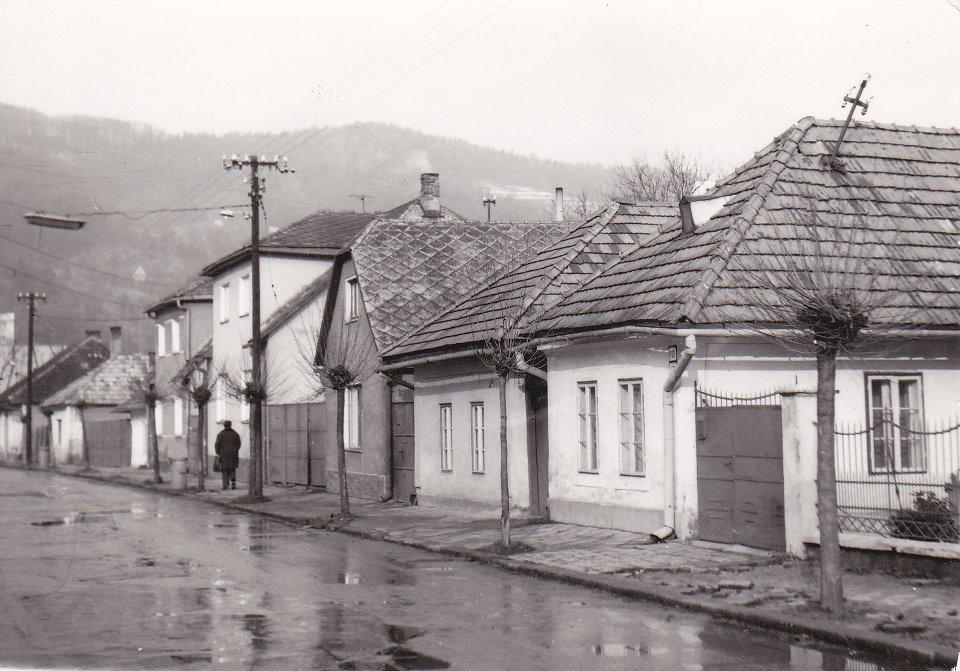 Moravská ulica v r. 1980