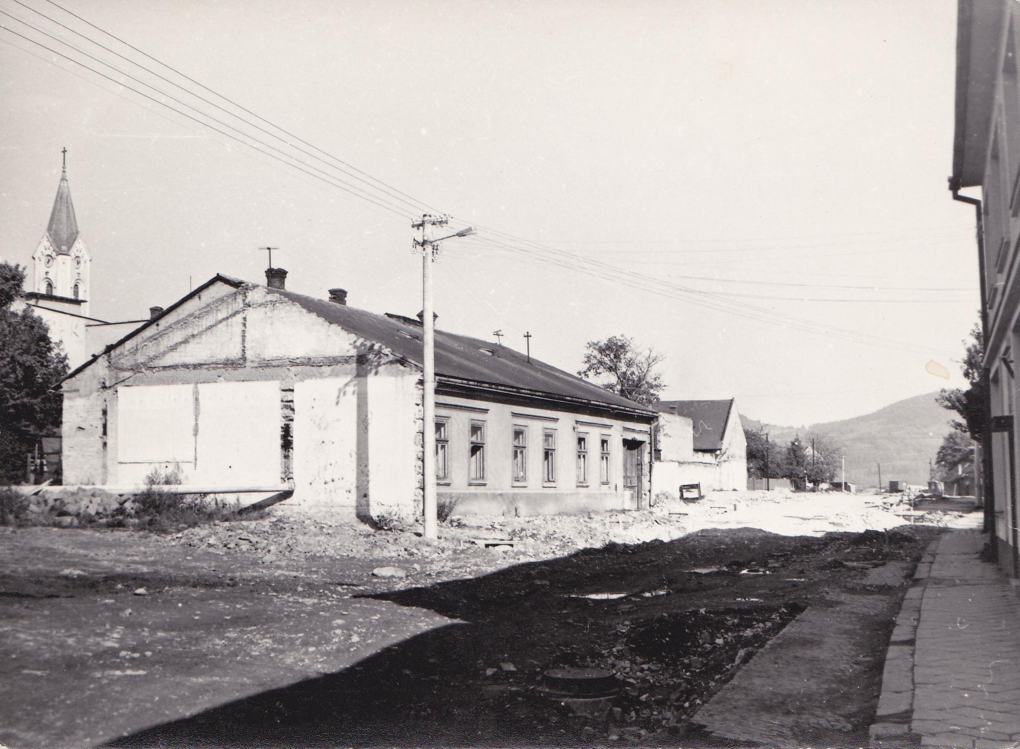 Hollého ulica - 70. roky