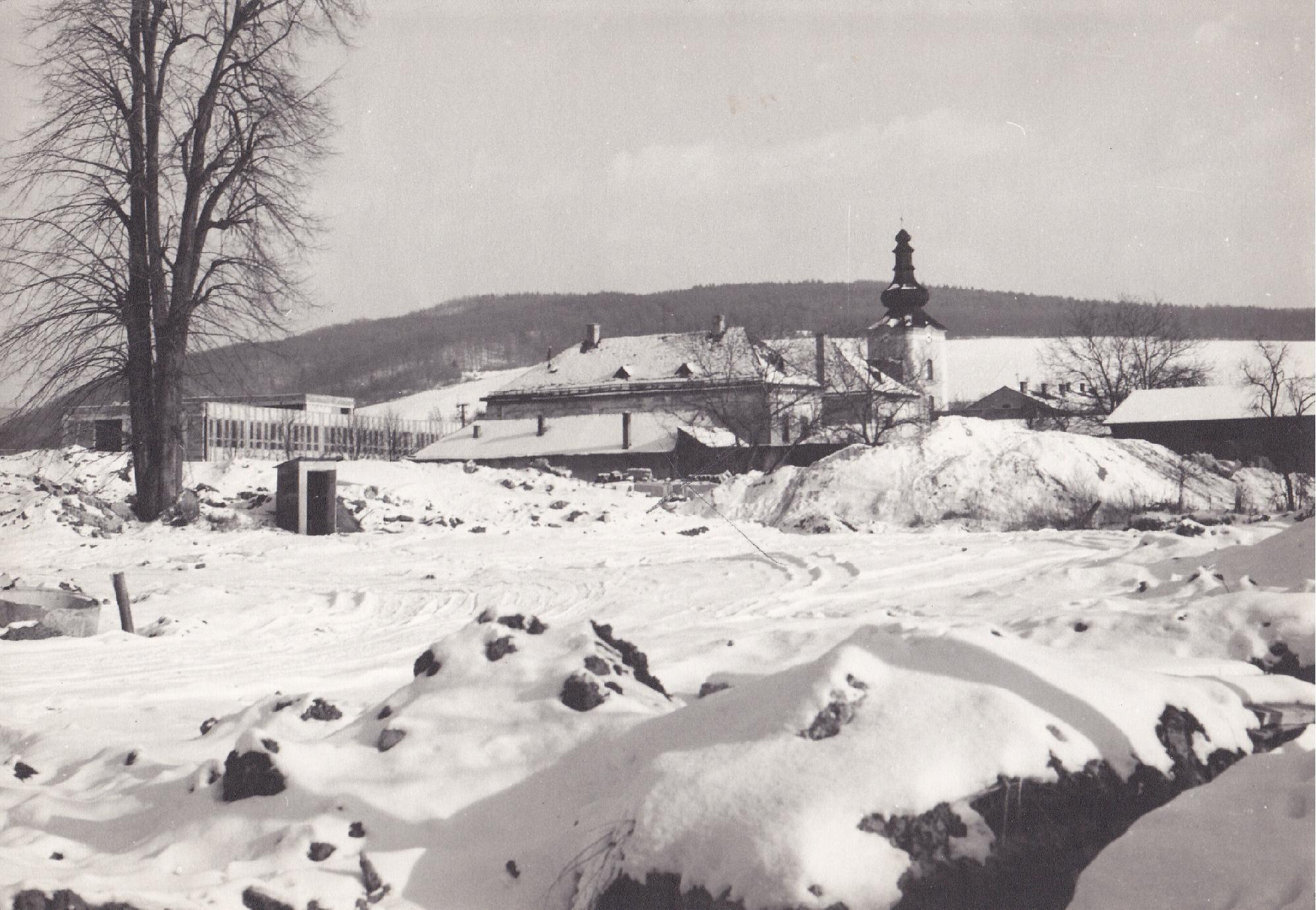 Fotografia dnešnej Marczib. záhrady v druhej polovici 80. rokov minulého storočia