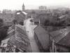 Moyzesova ulica odfotografovaná z veže kostola