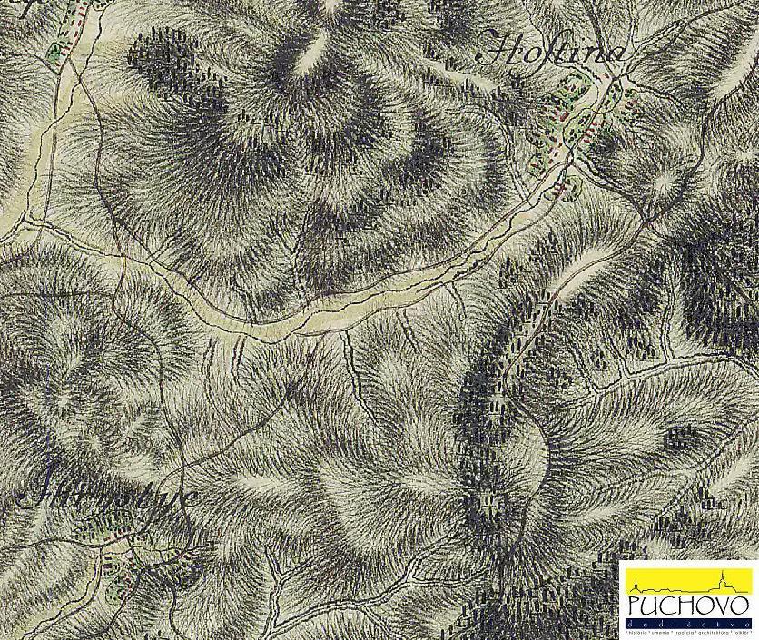 Ihrište a Hoštiná okolo 1769 - 1785
