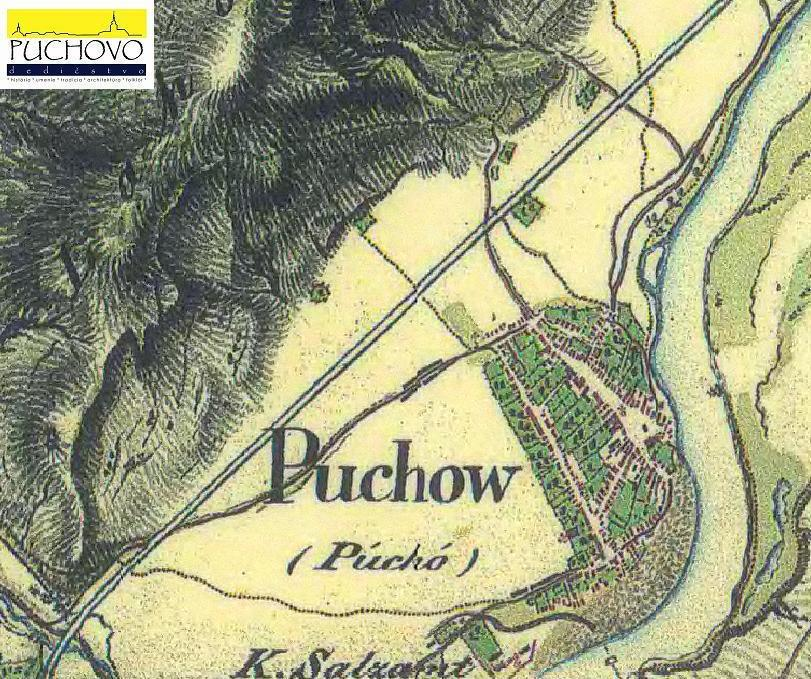 Púchov okolo r. 1819 až 1869