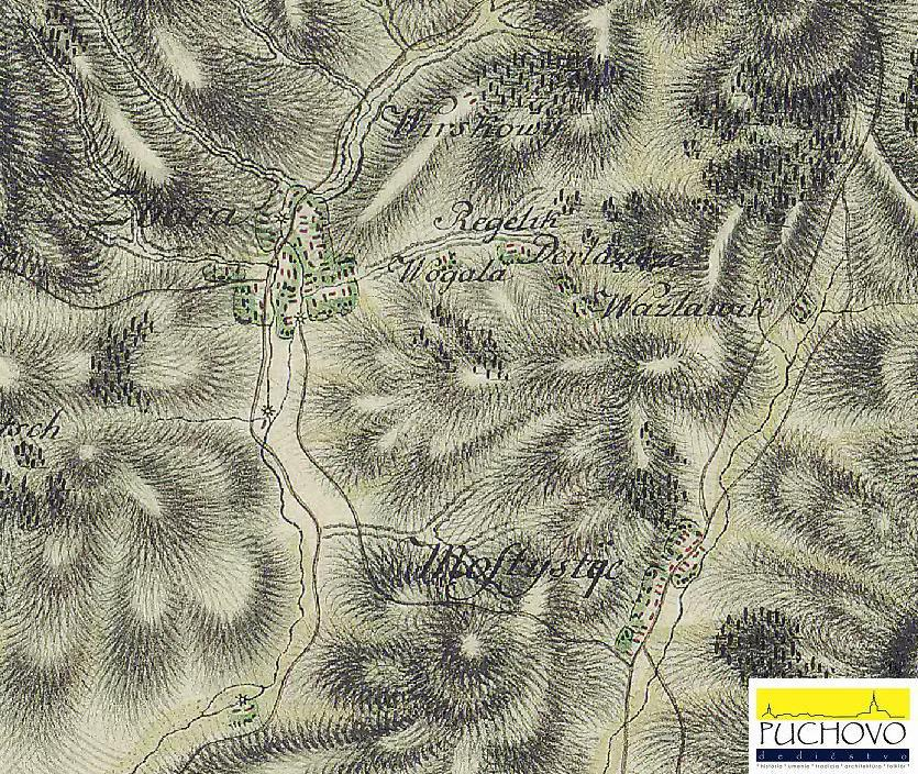 Zbora a Mostište okolo 1769 - 1785