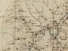 Mapa okolia Púchova z roku 1799