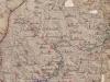 Mapa okolia Púchova z roku 1740