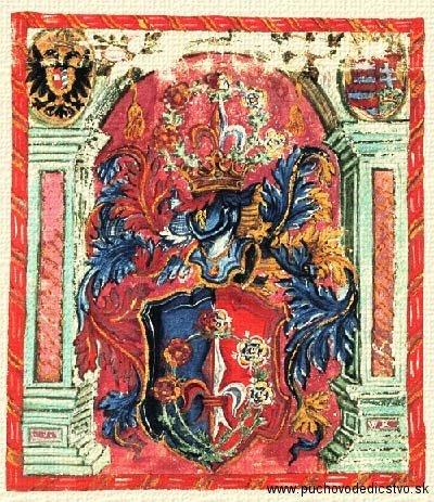 erb rodu Barošovcov z Beluše
