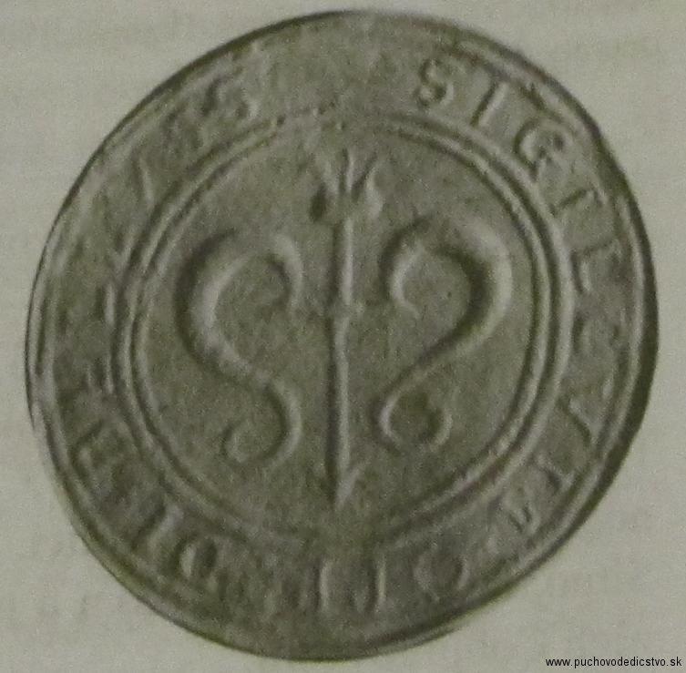 Menšia pečať Beluše zo 17. storočia