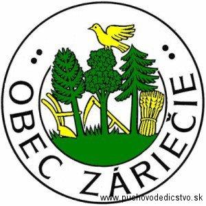 Súčasný znak obce Záriečie