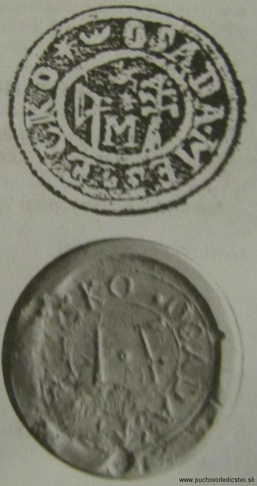 Pečať Mestečka z 18. storočia