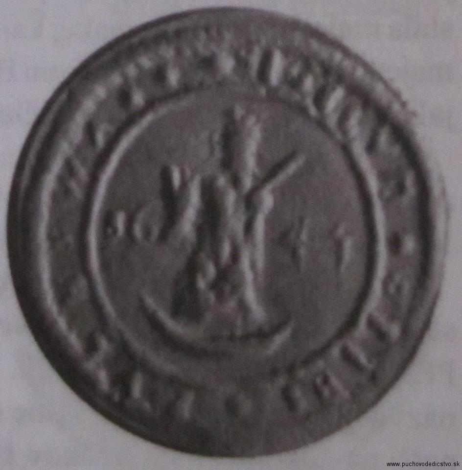 Pečať Púchova z r. 1644