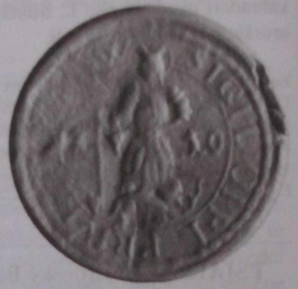 Pečať Púchova z r. 1710