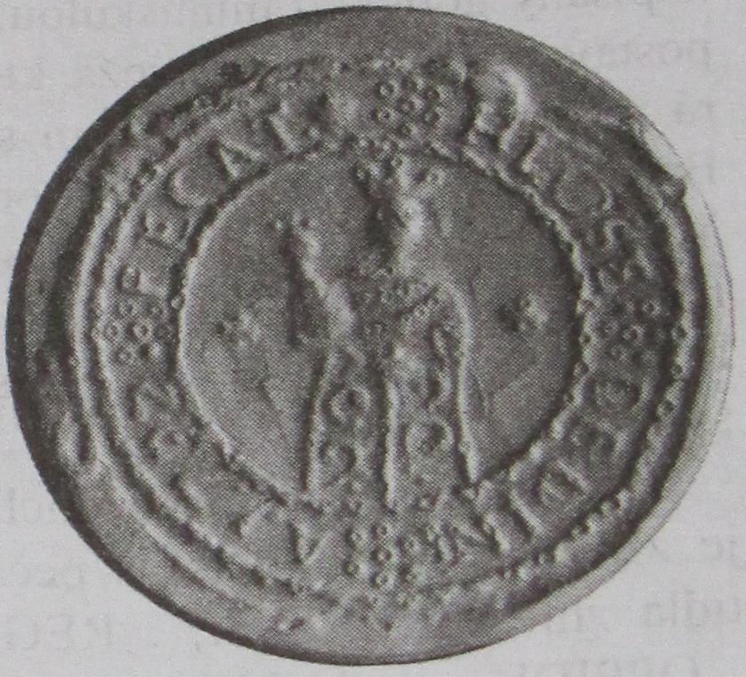 Odtlačok pečate Hlože z r. 1722