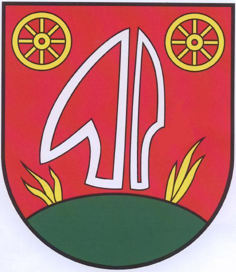 Súčasný erb obce Kvašov