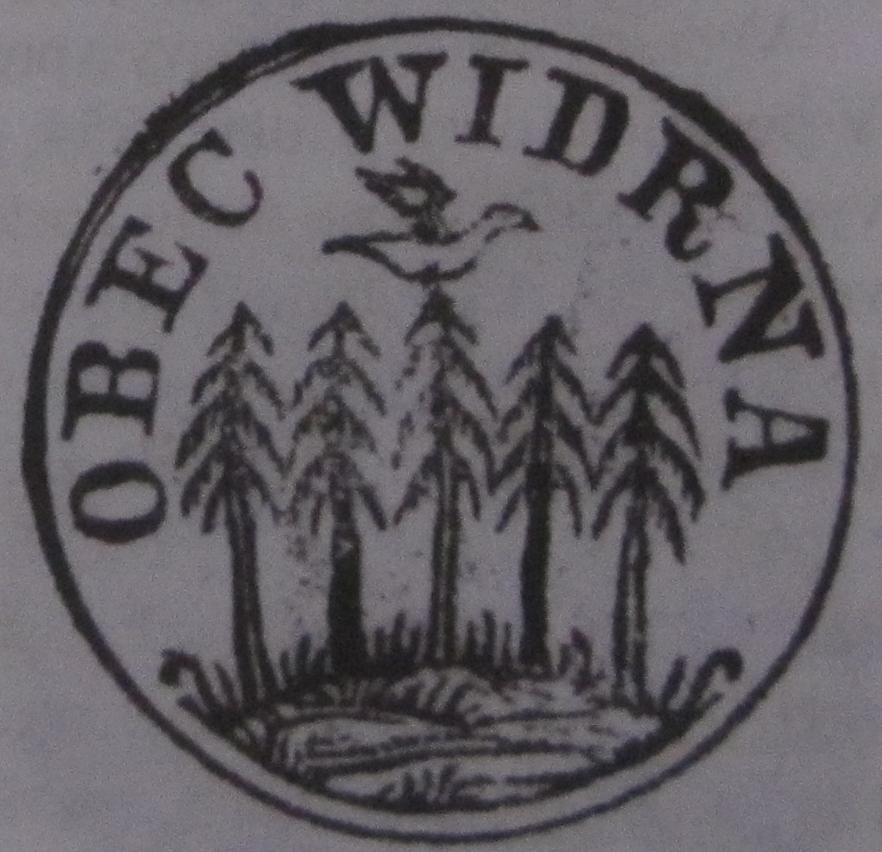Odtlačok pečate Vydrnej z 19. storočia