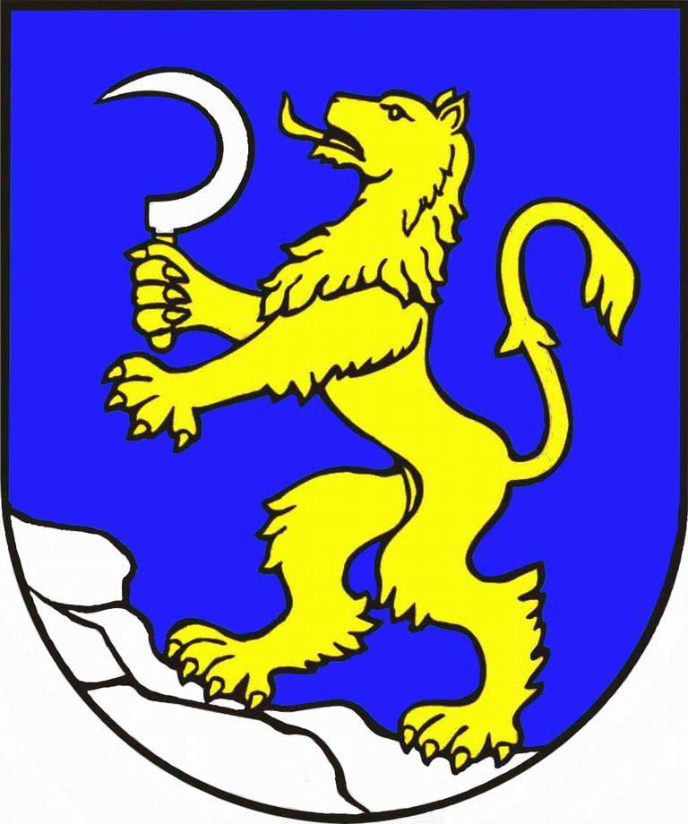 Súčasný erb obce Visolaje