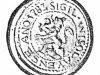 Odtlačok pečatidla obce Visolaje z r. 1783