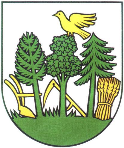 Súčasný erb obce Záriečie