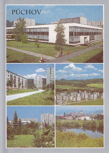 Pohľadnica Púchova zo zač. 80-tych rokov