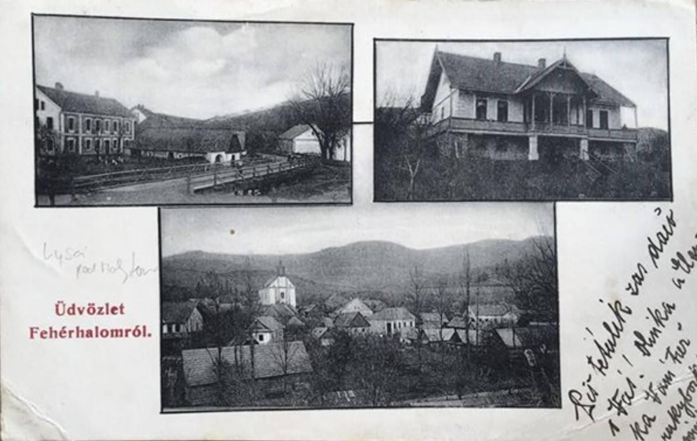 Za pohľadnicu Lysej pod Makytou z roku 1911 vďačíme pánovi Petrovi Brindzovi a môžete na nej vidieť centrum obce s dnešným obecným úradom, v súčasnosti už neexistujúcu secesnú budovu horárne a kostol sv. Štefana kráľa s okolitými stavbami.