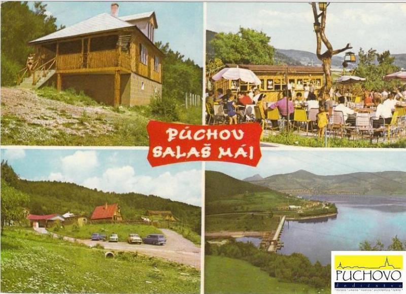 Pohľadnica: Salaš Máj medzi Púchovom a obcou Nimnica