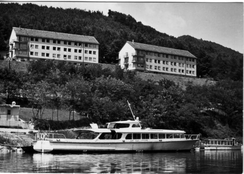 Kúpele Nimnica pred nimi JASENICA. Foto poslané 31.5.1966