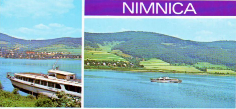 Nimnica Výrez pohľadnice poslanej 5.8.1985