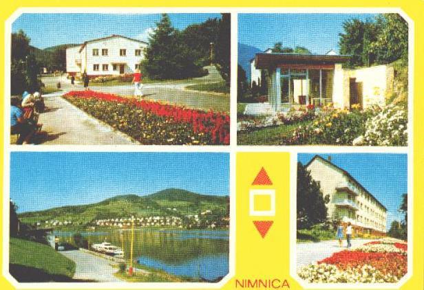 Kúpele Nimnica v roku 1982