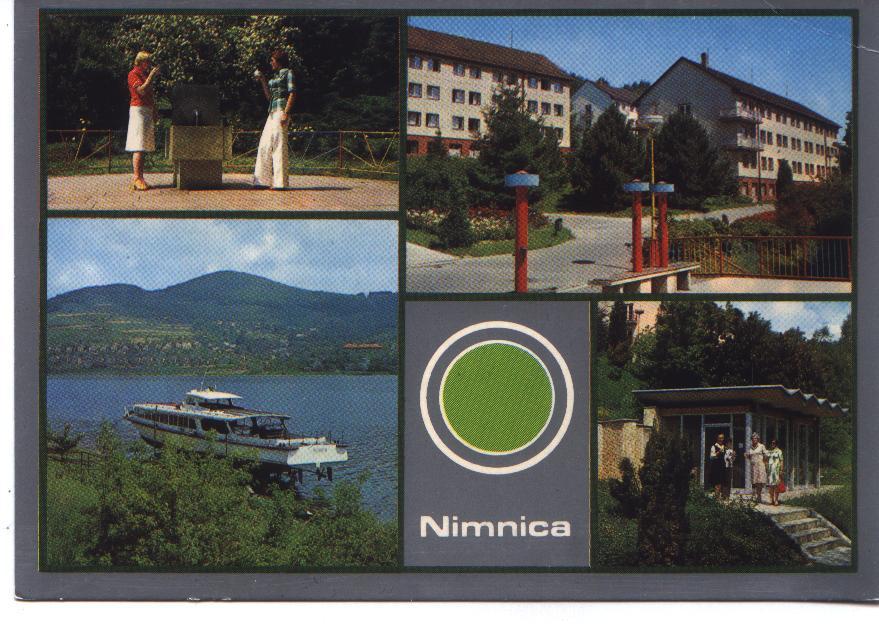 Pohľadnica Nimnice z r. 1980 od pána Olšovského