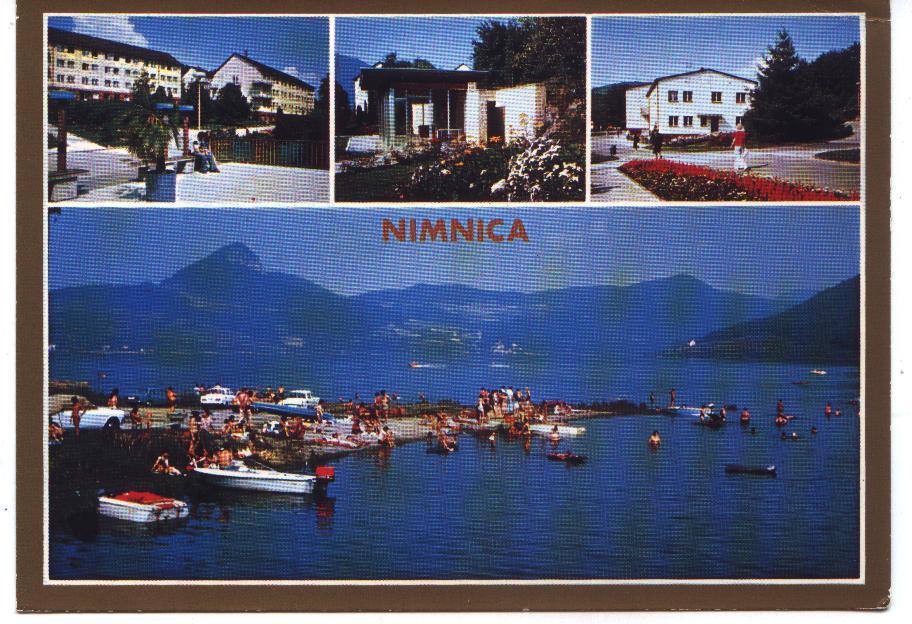 Pohľadnica Nimnice z r. 1979 od pána Olšovského