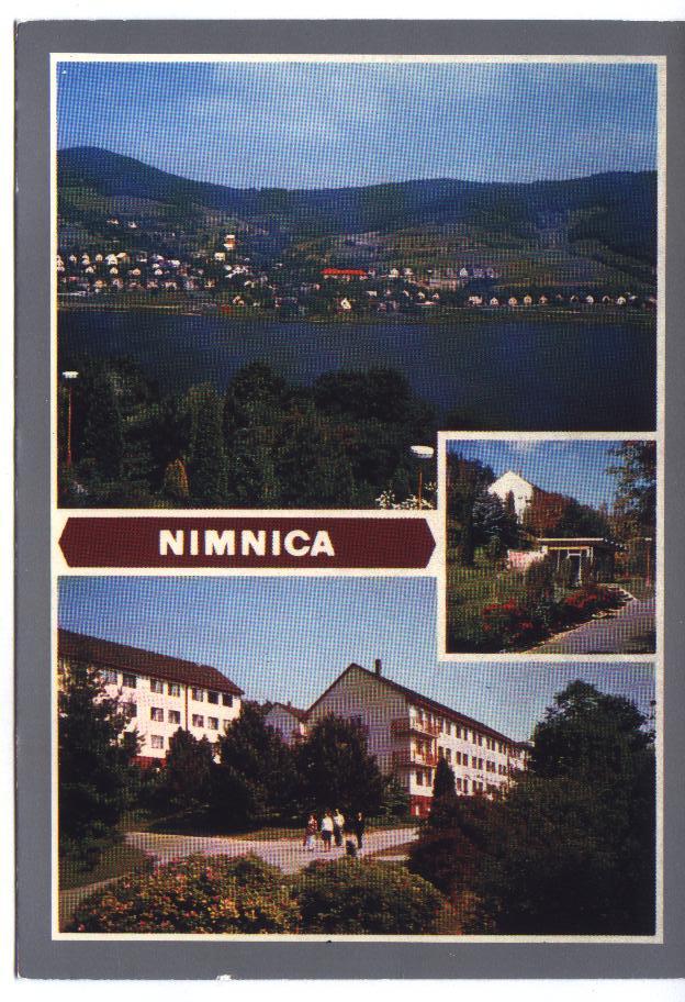 Pohľadnica Nimnice z r. 1981 od pána Olšovského