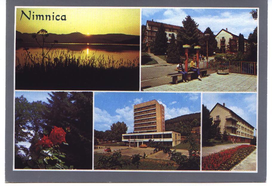 Pohľadnica Nimnice z r. 1990 od pána Olšovského