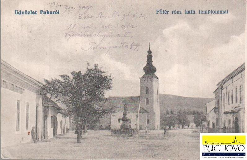 Pohľadnica dnešného Námestia slobody na konci 19. storočia