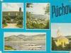 Púchov a okolie na pohľadnici v r. 1968