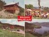 Salaš Máj a Priehrada mládeže pri Púchove na pohľadnici z r. 1969