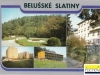 rekreačné stredisko Beluššské Slatiny - pohľadnica