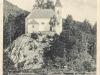 Pohľadnica barokovej kaplnky sv. Anny postavenej na začiatku 2. polovice 18. storočia medzi Lednickými Rovňami a Dolnou Breznicou
