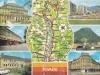 Stredné Považie na pohľadnici (Pov. Bystrica, Púchov, Ilava, Dubnica n. Váhom)
