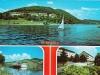 Letná pohľadnica z kúpeľov v Nimnici a VD Nosice z 80. rokov minulého storočia