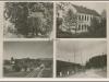 Pohraničná obec Sřelná na pohladnici, ktorá je datovaná rokom 1943