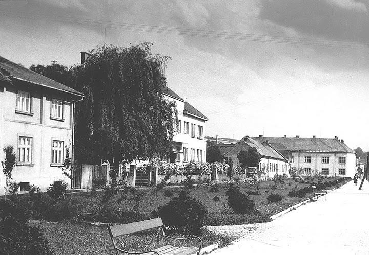 dnešný dets. domov a Štefánikova ulica
