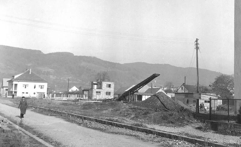 Royova ul. v októbri 1953