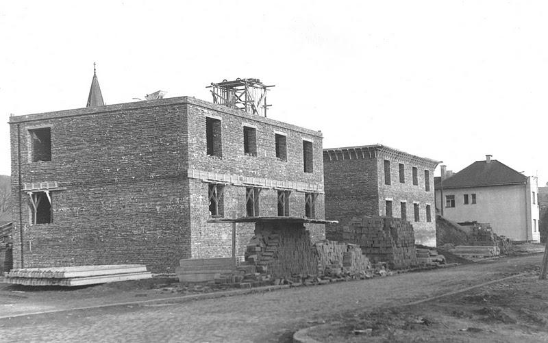 križovatka ul. Royova a F. Urbánka, február 1954