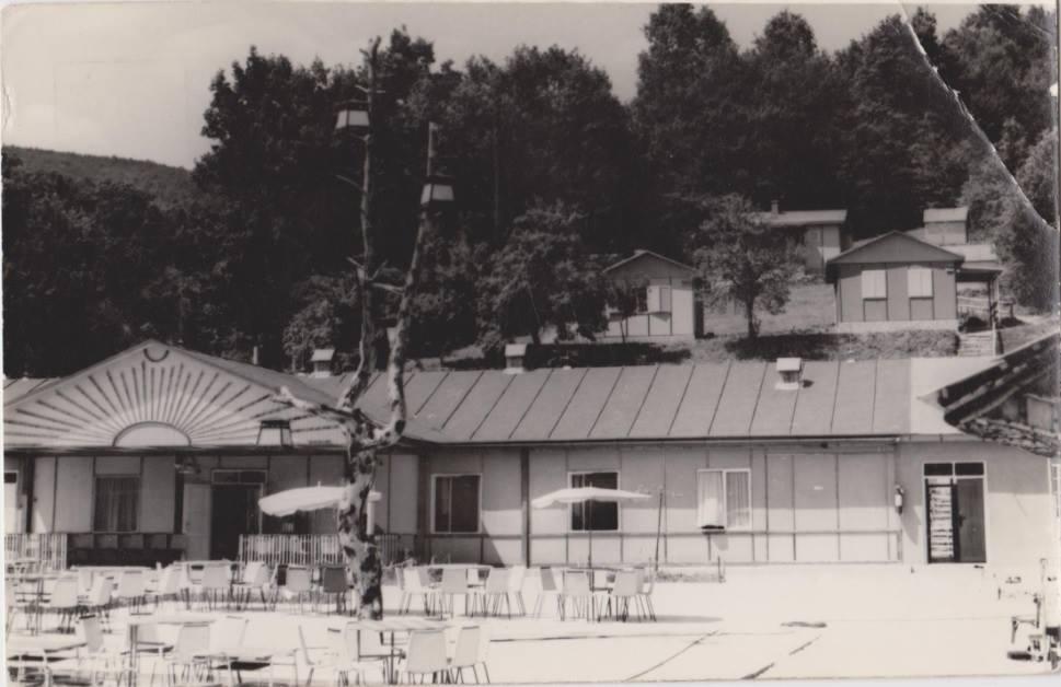 """Salaš """"Máj"""" medzi Púchovom a Nimnicou cca v 70. rokoch 20. storočia"""