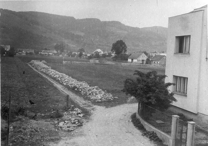 Ulica F. Urbánka - vpravo evan. zborový dom