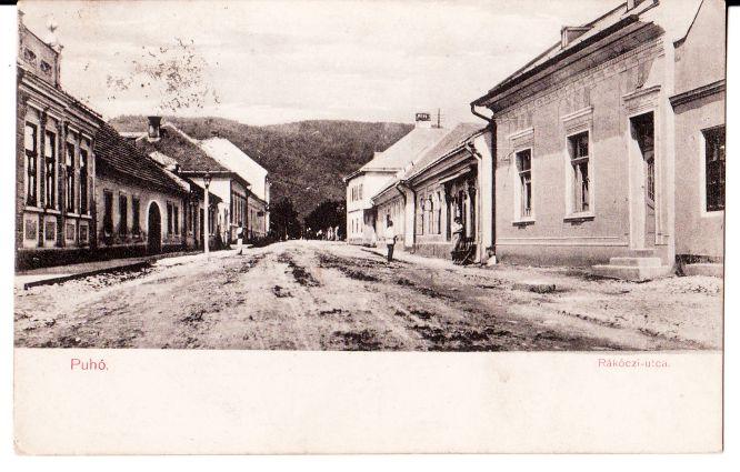 Rákoczi utca - dnešná Moravská ulica v roku 1917