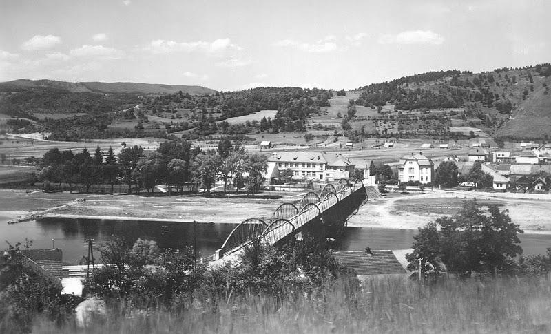 starý most v r. 1930
