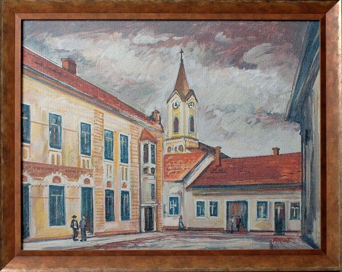 Maľba inšpirovaná predchádzajúcou fotografiou