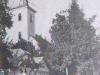 fotografia Vajanského ulice v časti Horné Kočkovce z roku 1955.