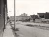 """Asanácia Hollého ulice s vybudovaním parkoviska na """"Rožáku"""" v roku 1972. Za fotografiu ďakujeme pani Kršjakovej"""